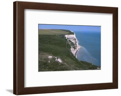 Langdon Bay and Cliffs, east of Dover Harbour, Dover, Kent, 20th century-CM Dixon-Framed Photographic Print