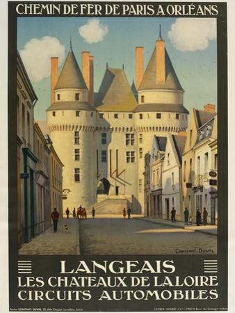 Langeais Les Chateaux De La Loire