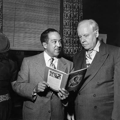 Langston Hughes, Carl Van Vechten-G. Marshall Wilson-Photographic Print