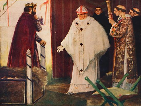 'Langston's interview with King John', 1912-Unknown-Giclee Print