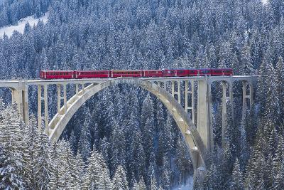 Langwies Viaduct, Switzerland-Werner Dieterich-Photographic Print