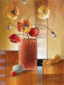 Afternoon Poppy Still Life I by Lanie Loreth