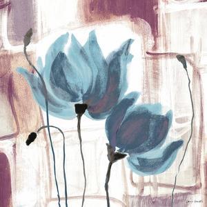 Blue Magnolias II by Lanie Loreth