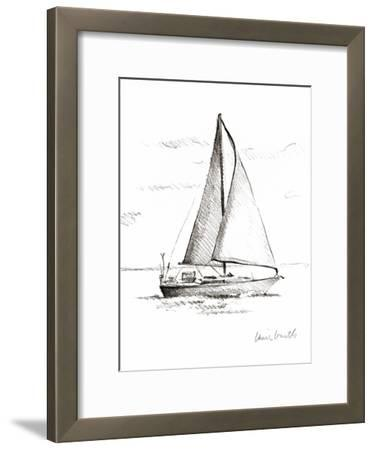 Coastal Boat Sketch I