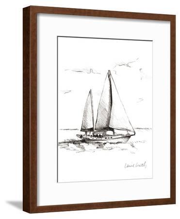 Coastal Boat Sketch II