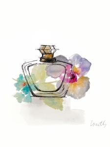 Crystal Watercolor Perfume I by Lanie Loreth