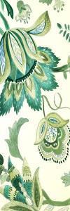Green Capri Floral I by Lanie Loreth