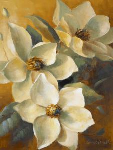 Magnolias Aglow at Sunset II by Lanie Loreth