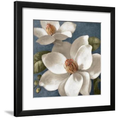 Magnolias on Blue I