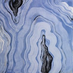 Moody Blue Agate II by Lanie Loreth