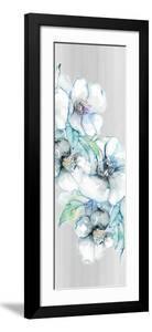 Moonlit Floral Panel I by Lanie Loreth
