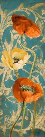 Poppies de Bleu I