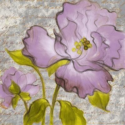 Purple Florals I by Lanie Loreth