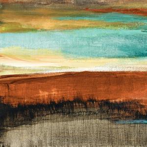 Rustic Sea Square I by Lanie Loreth