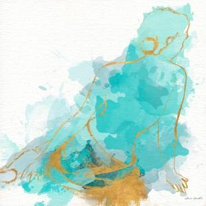 Seated Watercolor Woman I by Lanie Loreth