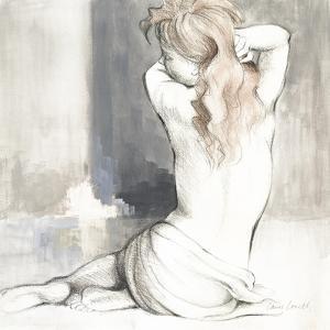 Sketched Waking Woman I by Lanie Loreth