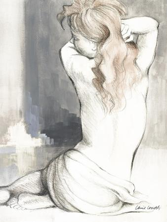 Sketched Waking Woman I by Lanie Loreth