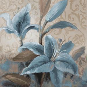 Soft Blue Blooms II by Lanie Loreth