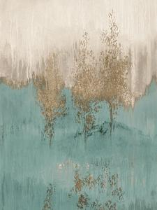 Through the Gold Trees Abstract I by Lanie Loreth