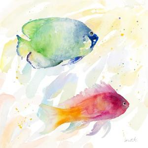 Tropical Fish Square III by Lanie Loreth