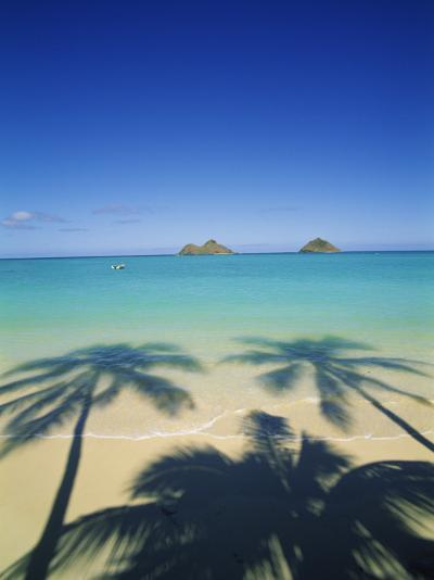 Lanikai Beach, Kailua, Hawaii, USA-Douglas Peebles-Photographic Print