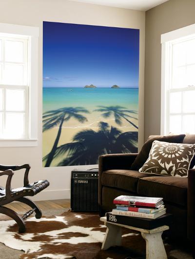 Lanikai Beach, Kailua, Hawaii, USA-Douglas Peebles-Giant Art Print