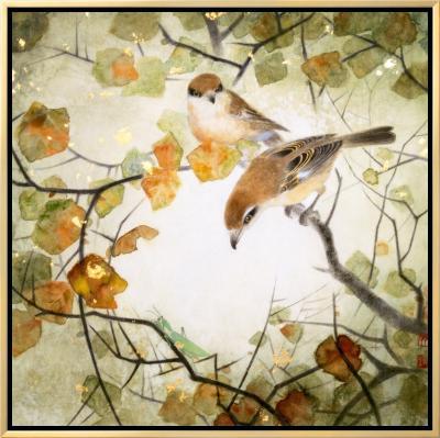 Lanius Schach-Minrong Wu-Framed Canvas Print