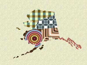 Alaska State Map by Lanre Adefioye