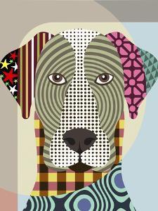 Great Dane Dog by Lanre Adefioye