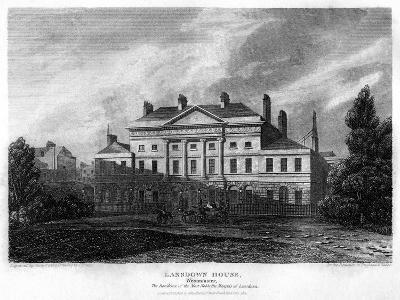 Lansdowne House, Westminster, London, 1815-J Shury-Giclee Print
