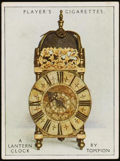 Lantern Clock by Thomas Tompion, the Father of English Clock-Making--Photographic Print