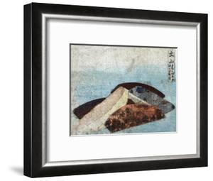 3 Combs, Japanese Wood-Cut Print by Lantern Press