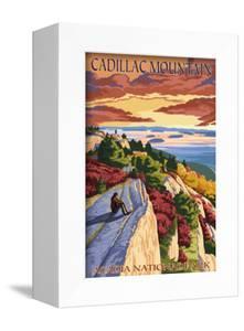 Acadia National Park, Maine - Cadillac Mountain by Lantern Press