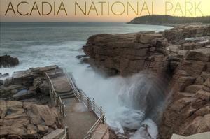 Acadia National Park, Maine - Thunder Hole by Lantern Press