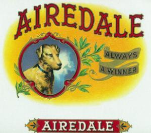Airedale Brand Cigar Box Label by Lantern Press