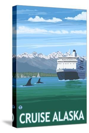 Alaska - Cruise Ship and Whales