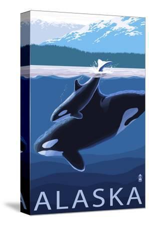 Alaska - Orca and Calf