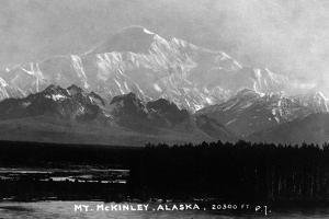 Alaska - View of Mt McKinley by Lantern Press