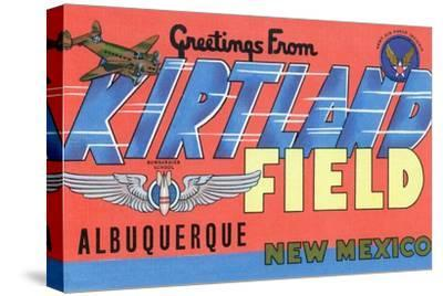 Albuquerque, New Mexico - Kirtland Field, Large Letter Scenes