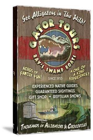 Alligator Tours - Vintage Sign
