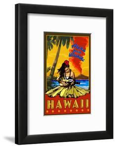 Aloha from Waikiki, Hawaii by Lantern Press