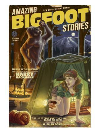 Amazing Bigfoot Stories by Lantern Press