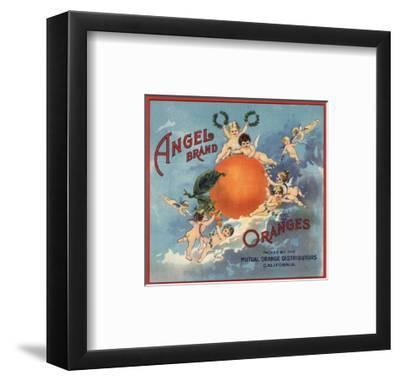 Angel Brand - California - Citrus Crate Label