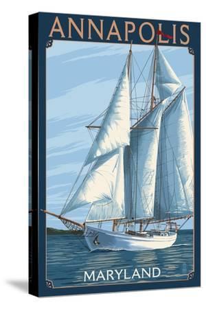 Annapolis, Maryland - Sailboat Scene