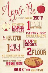 Apple Pie Recipe by Lantern Press