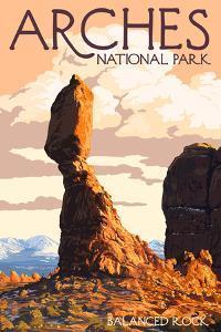 Arches National Park, Utah - Balanced Rock by Lantern Press