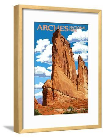 Arches National Park, Utah - Courthouse Towers