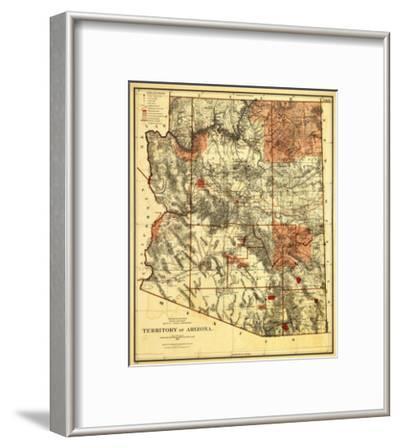 Arizona Territory - Panoramic Map
