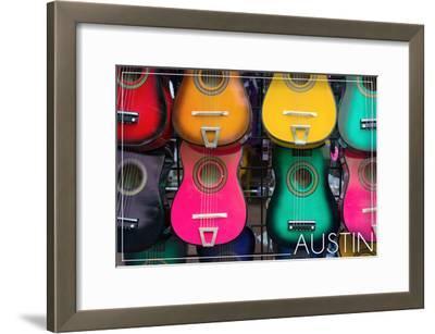 Austin, Texas - Acoustic Guitars on Wall