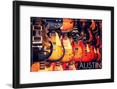 Austin, Texas - Electric Guitars on Wall